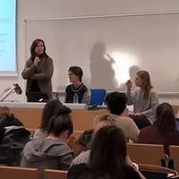 Incontro con gli studenti presso l'Università di Bergamo