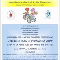 Biciclettata di primavera 2019