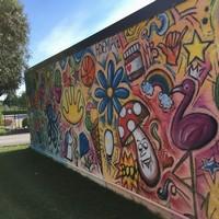 Nuovo Murales in zona ingresso della scuola