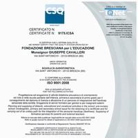Rinnovato il certificato di Qualità ISO 9001:2008